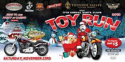 17th Annual Santa Claus Toy Run
