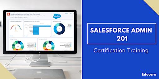 Salesforce Admin 201 & App Builder Certification Training in Goldsboro, NC