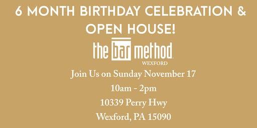 The Bar Method Wexford 6 Month Birthday Celebration