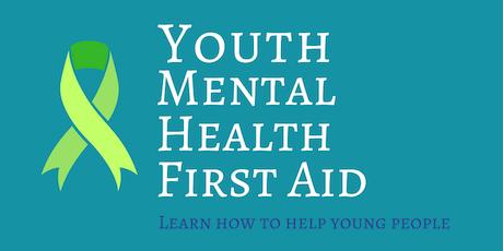 Youth Mental Health First Aid (YMHFA) tickets