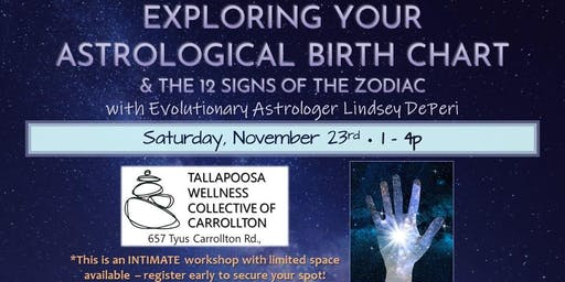 Exploring your Astrological Birthchart & The 12 Zodiac Signs