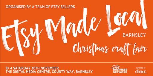 Etsy Made Local Barnsley - Christmas Market