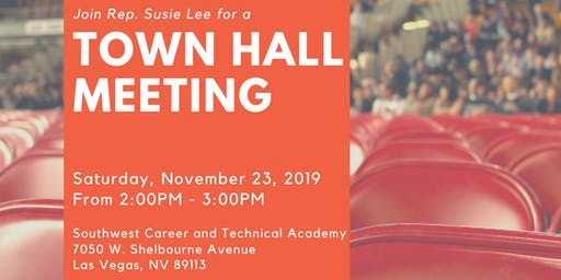 Town Hall with Rep. Susie Lee