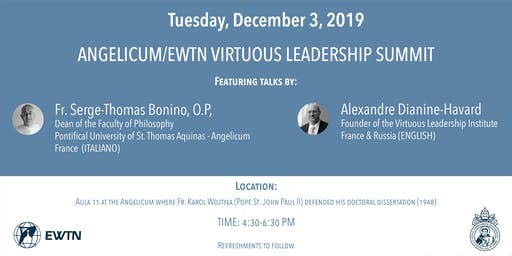 ANGELICUM / EWTN Virtuous Leadership Summit