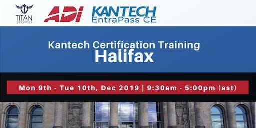 Halifax Kantech CE Certification - ADI