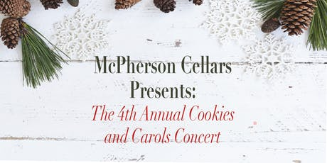 4th Annual Cookies & Carols Concert tickets