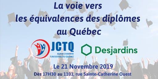 Réseautage-Conférence: La voie vers les équivalences des diplômes au Québec