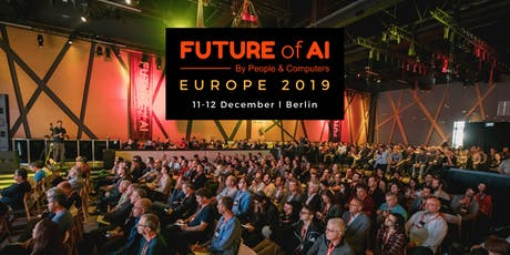 Future of AI Europe 2019 tickets