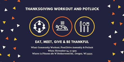 Thanksgiving Community Workout and Potluck