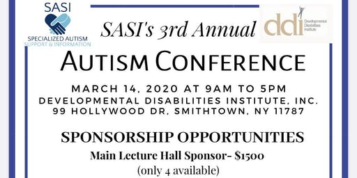 SASI's 3rd Annual Autism Conference