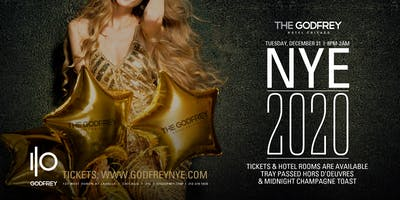 New Years Eve 2020 I|O at The Godfrey Hotel Chicago
