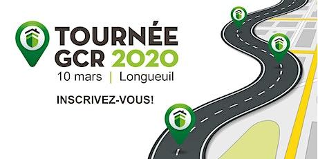 Tournée GCR 2020 - Longueuil billets