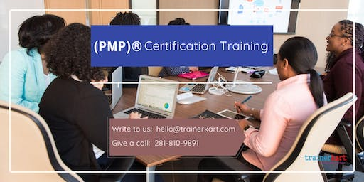 PMP Classroom Training in Fort McMurray, AB