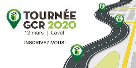 Tournée GCR 2020 - Laval billets