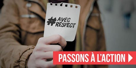 CONFÉRENCE : Agir contre la cyberviolence... #AVECRESPECT billets