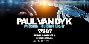 Paul van Dyk | 11.1.19 | 10:00 PM | 21+