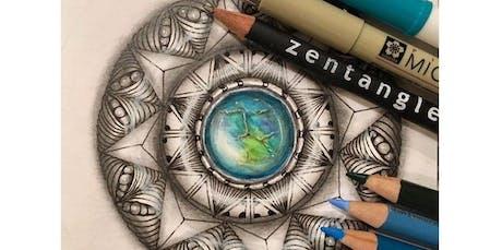 Zentangle: ZenGems (2020-02-23 starts at 2:00 PM) tickets