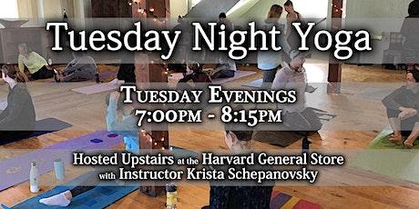 Tuesday Night Yoga tickets