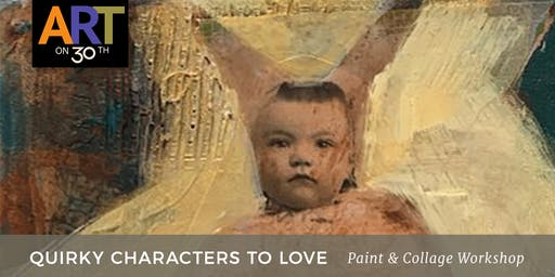 Quirky Characters To Love Workshop with Lisa Bebi