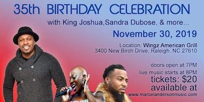 Soul Singing Live Music 35 Birthday Celebration