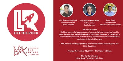 #VCLiftTheRock: Entrepreneurship + Community Service