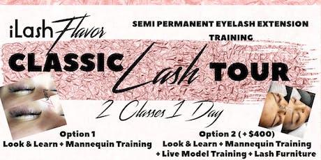 iLash Flavor Eyelash Extension Training Seminar - MIAMI tickets