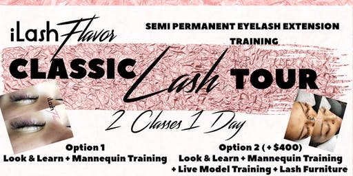 iLash Flavor Eyelash Extension Training Seminar - Memphis