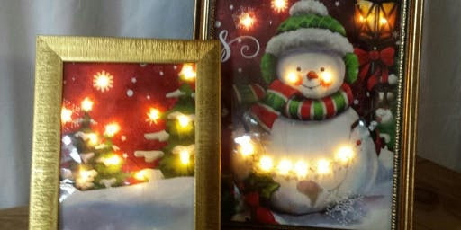 Lighted Snowman Picture