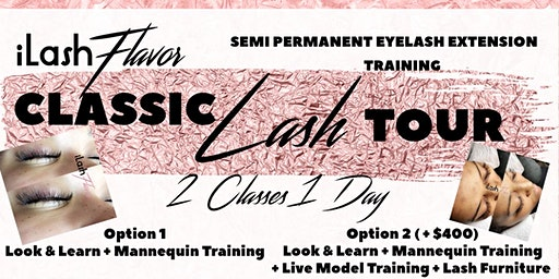 iLash Flavor Eyelash Extension Training Seminar - San Diego