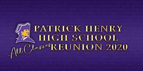 Patrick Henry High School All-Classes Reunion 2020 tickets
