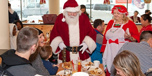 Breakfast with Santa at Sunset Grill December 21, 2019