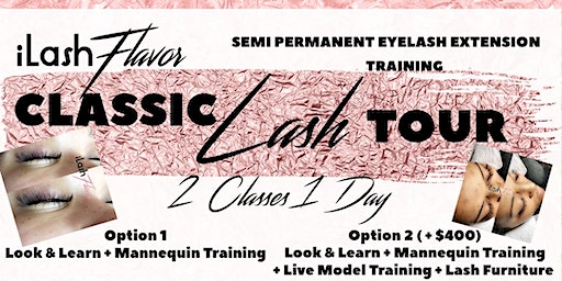 iLash Flavor Eyelash Extension Training Seminar - BERKELEY
