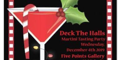 """Deck the Halls"" Martini Tasting Party"