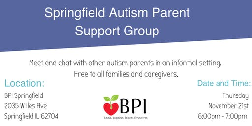 Springfield Autism Parent Support Group