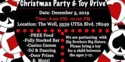 SAREIA's 4th Annual Casino Christmas Party & Toy Drive
