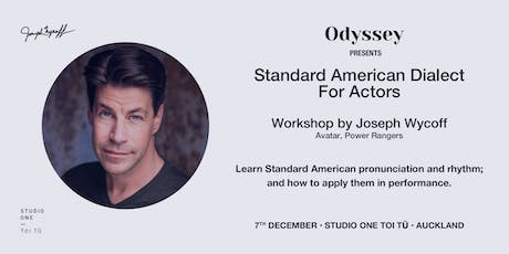American Accent for Actors: Standard Dialect tickets