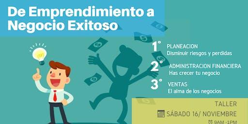 De Emprendimiento a Negocio Exitoso