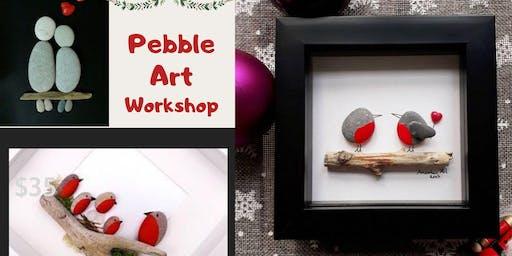 Pebble Rock Art