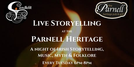 Irish Storytelling at the Parnell Heritage tickets