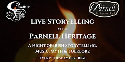 Irish Storytelling at the Parnell Heritage