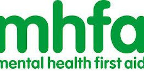 Mental Health First Aid (MHFA) 2 day course - 10th & 11th December 2019 tickets