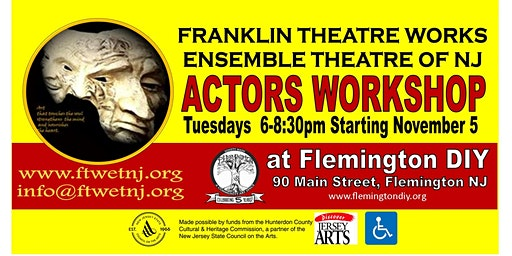 Franklin Theatre Works Ensemble Theatre of NJ Actors Workshop