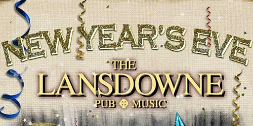 New Year's Eve Blowout at the Lansdowne Pub!
