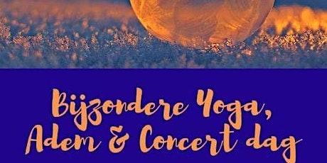 Bijzondere Yoga, Adem en Concert Dag tickets