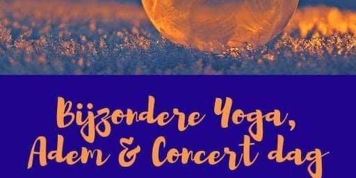 Bijzondere Yoga, Adem en Concert Dag