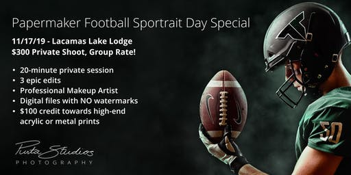 Papermaker Football Sportrait Day Special