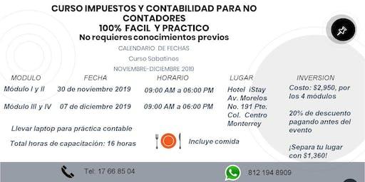 CURSO IM´PUESTOS Y CONTABILIDAD PARA NO CONTADORES