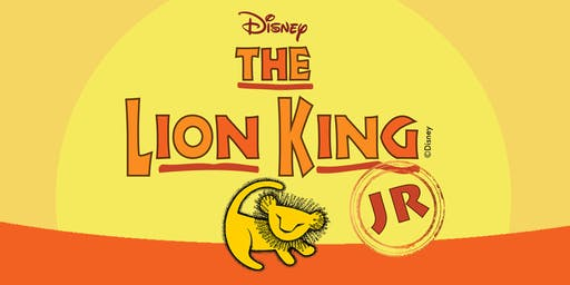 Lion King, Jr. - Saturday, June 27th, 2:00pm