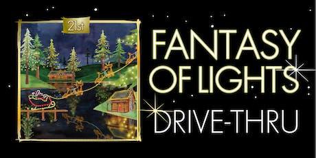 Fantasy of Lights Drive-thru 2019 tickets