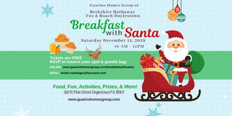 BHHS - Breakfast with Santa 2019 tickets